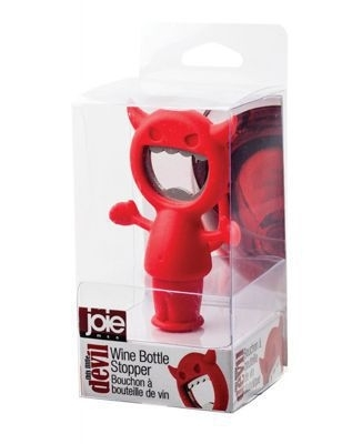 DEVIL WINE BOTTLE STOPPER & BOTTLE OPENER 12/BX
