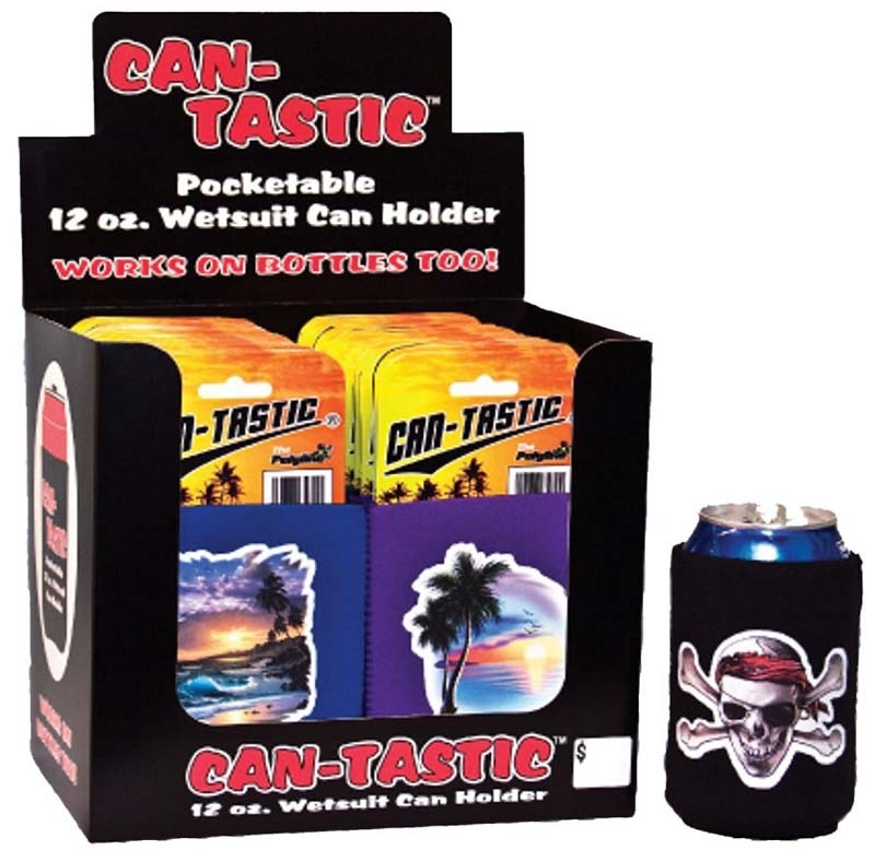 CD CAN TASTIC CAN / BOTTLE WRAP SHORE MIX  36/BX
