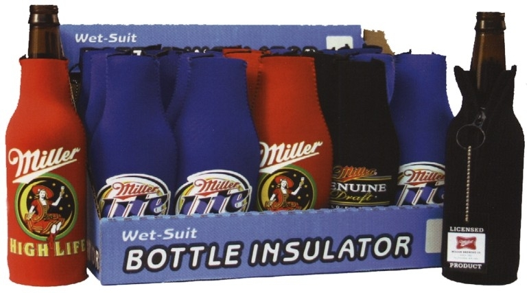 WSL!!!  BOTTLE BUDDIE 'MILLER'  COUNTER DISPLAY
