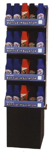 WSL!!!  BOTTLE BUDDIE 'MILLER'  FLOOR DISPLAY