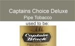 !!NEW!! CAPTAINS CHOICE DELUXE PIPE TOBACCO 6X50G (was BLACK GOL