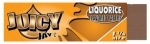 !NEW! JUICY JAY LICORICE - HEMP ROLLING PAPERS  1.25 24/BOX