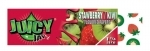 !NEW! JUICY JAY STRAWBERRY KIWI - HEMP ROLLING PAPERS 1.25  24/B