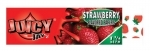 !NEW! JUICY JAY STRAWBERRY - HEMP ROLLING PAPERS 1.25  24/BX