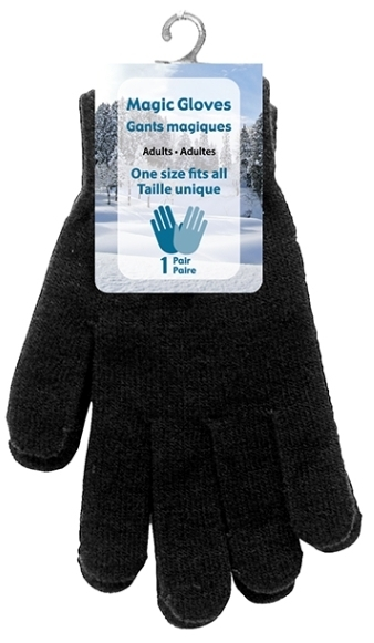 !NEW! MAGIC GLOVES - ADULT BLACK