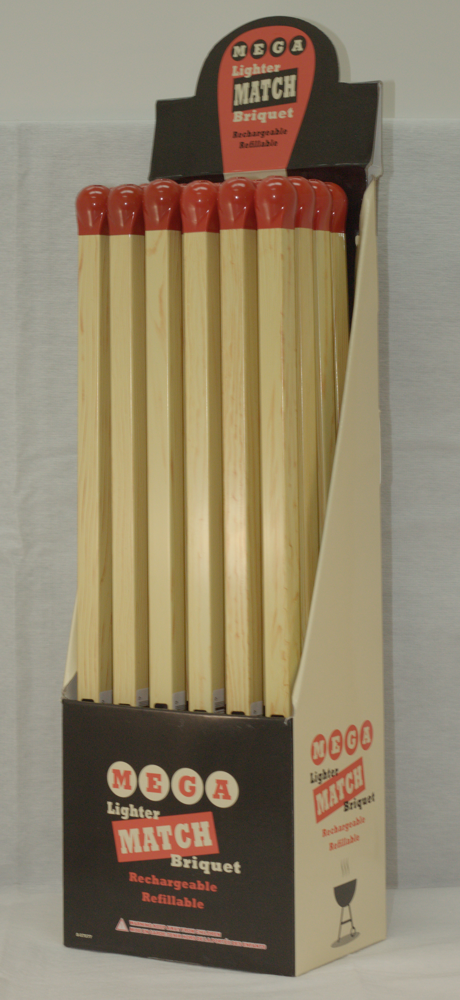 "!!NEW!! MEGA MATCH 14"" - BBQ / FIREPLACE LIGHTER 24/BX"