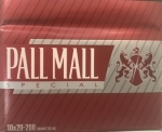 !!NEW!! XL 100 20 PALL MALL SPECIAL RED  10X20